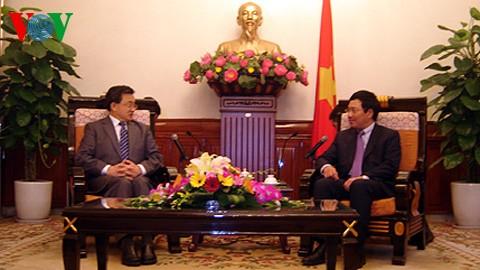 Пленарное заседание по вопросам о границе и территориальном размежевании между СРВ и КНР - ảnh 1