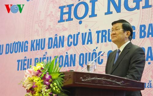Президент СРВ: Отечественный фронт должен развивать национальное единство - ảnh 1