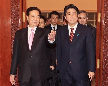 Премьер-министр Вьетнама Нгуен Тан Зунг начал официальный визит в Японию - ảnh 1