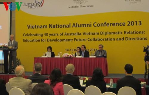 В Ханое прошла конференция вьетнамских выпускников австралийских ВУЗов - ảnh 1