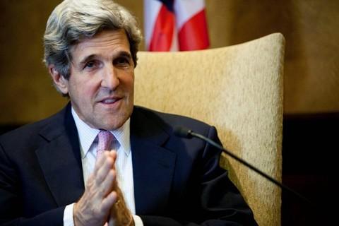 Госсекретарь США Джон Керри находится во Вьетнаме с визитом - ảnh 1
