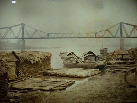 Первые цветные фотографии Ханоя 100 лет назад - ảnh 1