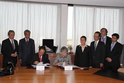 ЮНЕСКО и АСЕАН подписали рамочное соглашение о сотрудничестве - ảnh 1