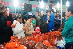 Ярмарка продукции промышленности, сельского хозяйства и торговли плато Тэйнгуен 2013 - ảnh 1