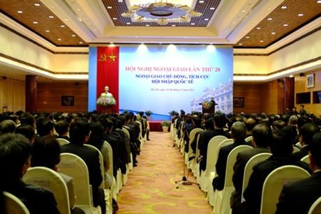 Дипломатия призвана защищать национальные интересы и достичь цели международной интеграции - ảnh 1