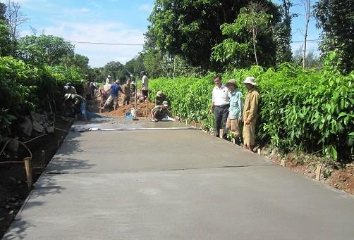 Строительство новой деревни в общине Виньтхать провинции Куангчи - ảnh 4