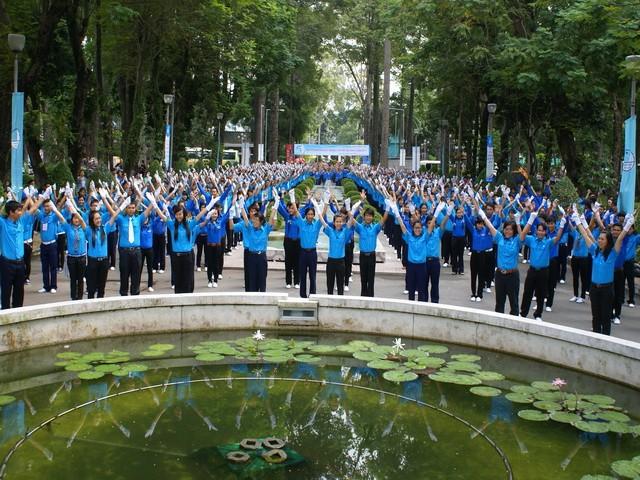 В Ханое открылась 9-я конференция исполнительного комитета Союза вьетнамской молодёжи - ảnh 1