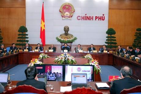 В Ханое открылось двухдневное онлайн-заседание правительства - ảnh 1