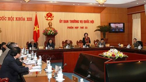 В Ханое открылось 23-е заседание постоянного комитета Национального Собрания СРВ - ảnh 1