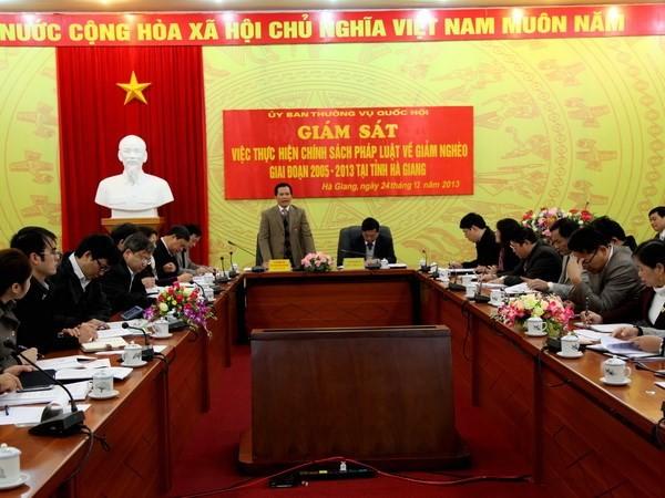 ПК НС СРВ проведет надзор за работой по ликвидации бедности в провинции Хазянг - ảnh 1