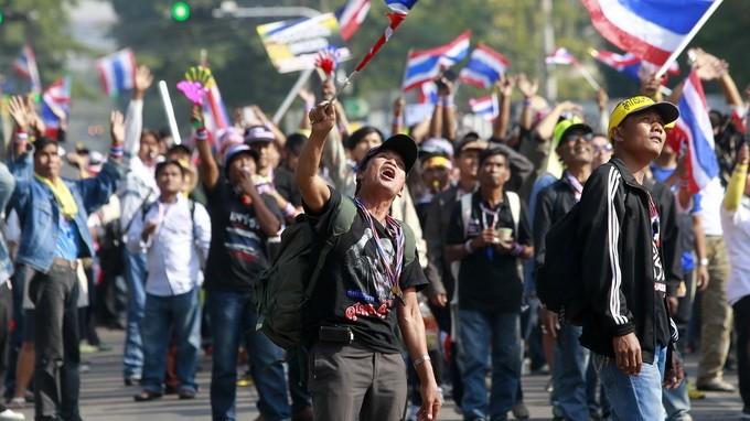 Таиланд: демонстранты прекратили блокировать избирком - ảnh 1