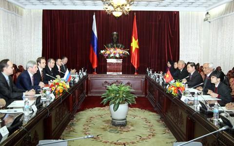 Делегация Госдумы РФ посетила провинцию Бариа-Вунгтау - ảnh 1