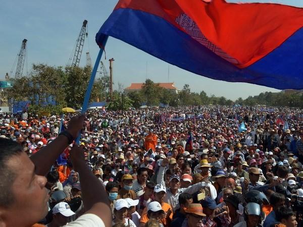 Правительство Камбоджи обвинило оппозицию партию в нарушении конституции - ảnh 1