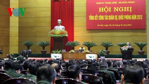 Генсек ЦК КПВ принял участие в конференции Центральной военной комиссии ВС Вьетнама - ảnh 1