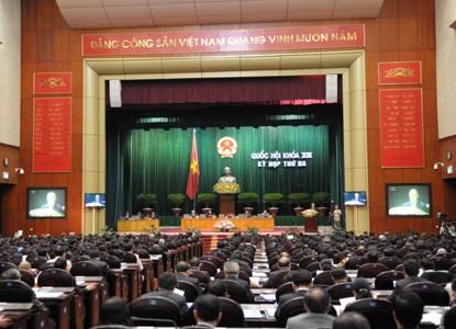 Quốc hội hội thảo luận về sửa đổi Hiến pháp và Luật thuế thu nhập cá nhân  - ảnh 1