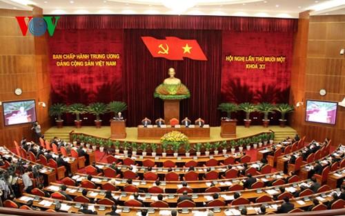 Khai mạc Hội nghị lần thứ 11 Ban chấp hành Trung ương Đảng khóa 11 - ảnh 1