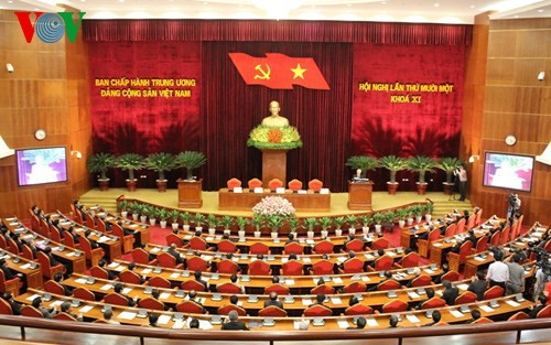 Bế mạc Hội nghị lần thứ 11, Ban Chấp hành Trung ương Đảng CSVN khóa XI - ảnh 1