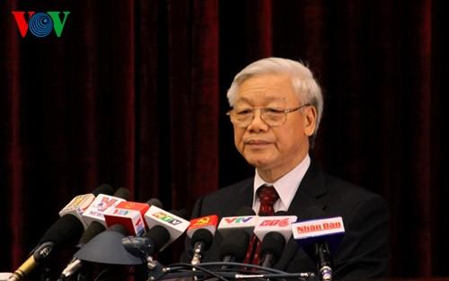 Bế mạc Hội nghị lần thứ 11, Ban Chấp hành Trung ương Đảng CSVN khóa XI - ảnh 2