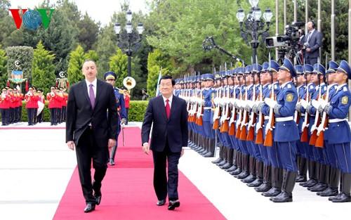 Việt Nam - Azerbaijan coi hợp tác dầu khí là hướng ưu tiên chiến lược - ảnh 1