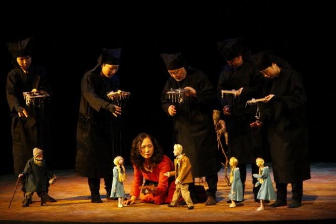 """Biểu diễn rối """"Vịt trời trúng độc"""" và hợp tác sân khấu Việt Nam - Nhật Bản - ảnh 1"""