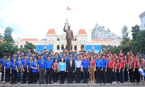 100 ngàn lượt chiến sĩ tham gia chiến dịch Mùa hè xanh 2016 tại Thành phố Hồ Chí Minh - ảnh 3