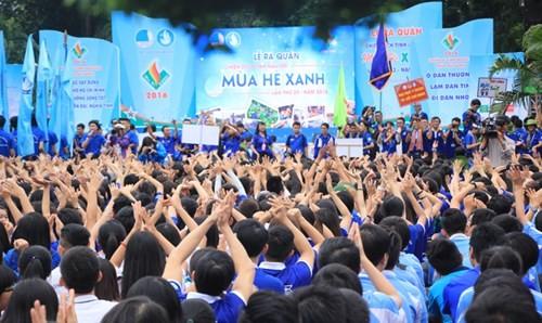 100 ngàn lượt chiến sĩ tham gia chiến dịch Mùa hè xanh 2016 tại Thành phố Hồ Chí Minh - ảnh 1