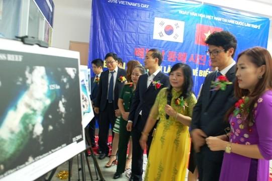 Triển lãm ảnh về Biển Đông tại Hàn Quốc  - ảnh 1