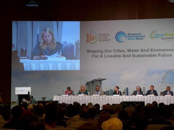 Việt Nam tham dự Hội nghị thượng đỉnh các thành phố thế giới lần thứ 7  - ảnh 1