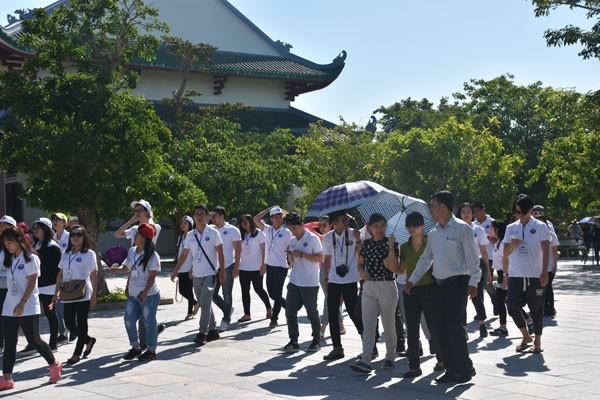 Trại hè Việt Nam 2016: Một ngày thú vị tại Đà Nẵng - ảnh 1