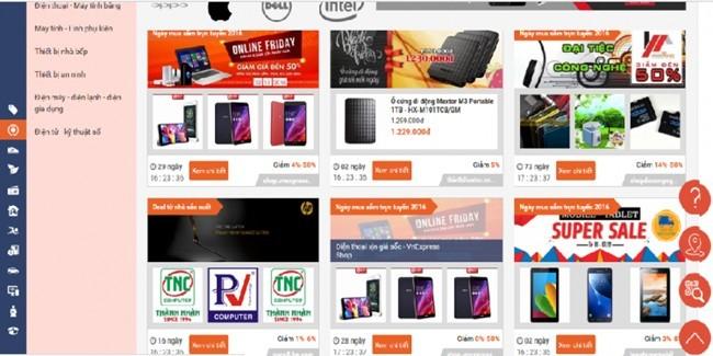 Khai mạc Ngày mua sắm trực tuyến lớn nhất trong năm - ảnh 1