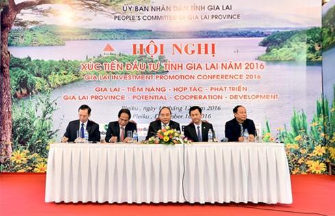 """Thủ tướng Nguyễn Xuân Phúc: Chính quyền Gia Lai phải """"ba cùng"""" với nhà đầu tư - ảnh 1"""