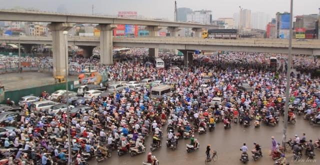 Giải pháp đảm bảo giao thông ở Hà Nội - ảnh 2