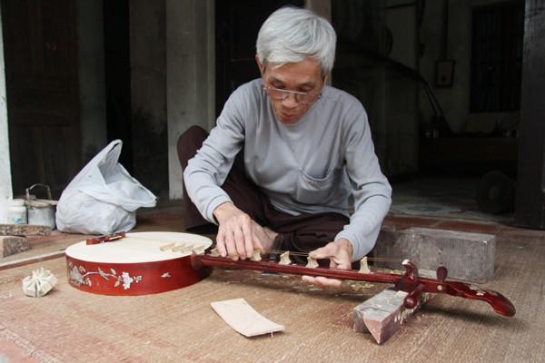 Làng làm đàn Đào Xá, nơi lưu giữ thanh âm hồn Việt - ảnh 1