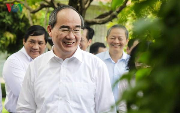 """Tân Bí thư Thành ủy TPHCM Nguyễn Thiện Nhân: """"Đúng nghĩa là về nhà"""