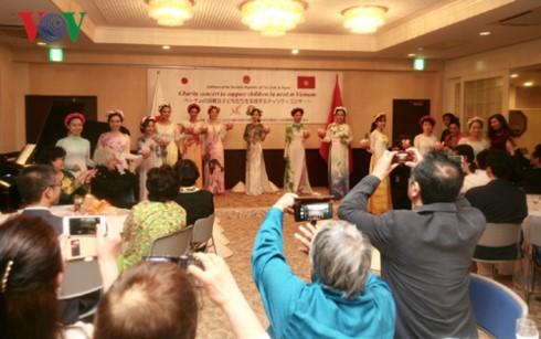 ĐSQ Việt Nam tại Nhật Bản tổ chức Hoà nhạc từ thiện vì trẻ em khó khăn - ảnh 1