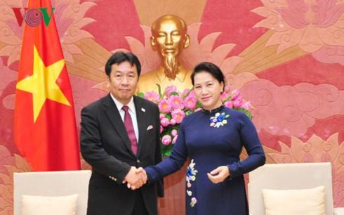 Việt Nam mong muốn phát triển toàn diện và thực chất hơn nữa với Nhật Bản - ảnh 1
