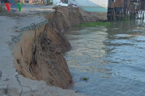 Chính phủ và các chuyên gia quan tâm đến vấn đề sạt lở và an ninh nguồn nước sông Mekong - ảnh 1