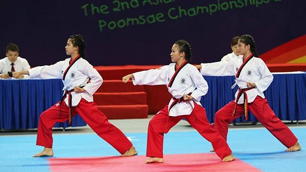 Khai mạc Giải vô địch Taekwondo thiếu niên châu Á lần thứ 2  - ảnh 1