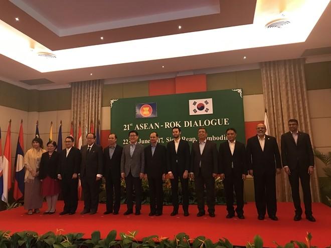 Đối thoại ASEAN - Hàn Quốc lần thứ 21 - ảnh 1