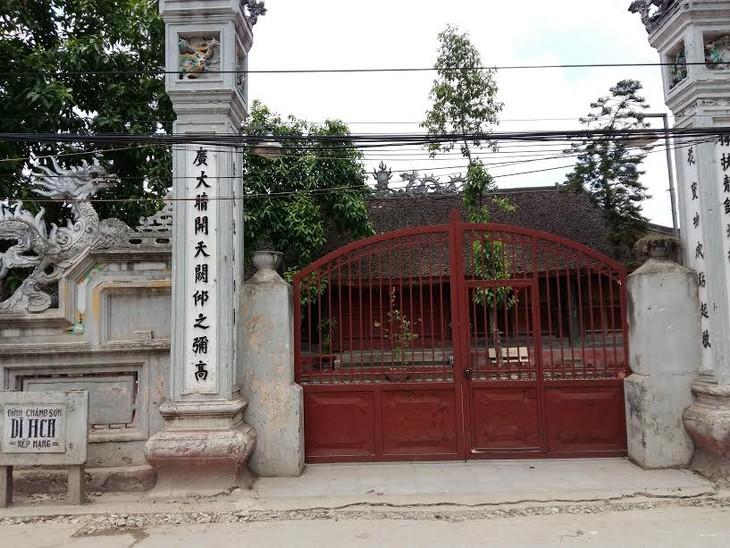 Tinh hoa nghề mộc làng Chàng Sơn - ảnh 1