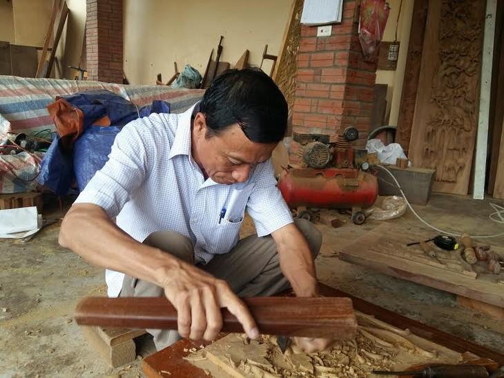 Tinh hoa nghề mộc làng Chàng Sơn - ảnh 2
