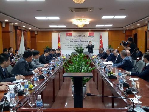 Việt Nam và Thổ Nhĩ Kỳ phấn đấu đạt kim ngạch xuất khẩu 4 tỷ USD vào năm 2020 - ảnh 1