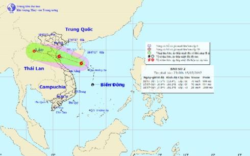 Các tỉnh miền Trung chủ động ứng phó mưa lũ do bão số 2 - ảnh 1