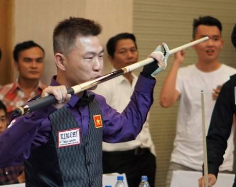 Kết thúc giải Billiards Carom 3 băng quốc tế Bình Dương  - ảnh 1