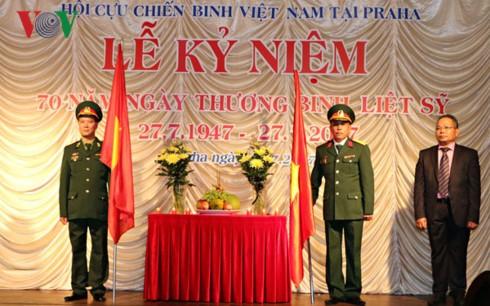 Xúc động Lễ kỷ niệm 70 năm ngày Thương binh liệt sĩ tại Séc - ảnh 1