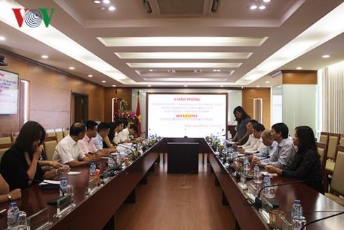 Đài Tiếng nói Việt Nam trao đổi hợp tác với Đài Phát thanh Quốc tế Trung Quốc - ảnh 1
