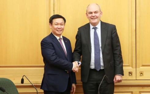 Phó Thủ tướng Vương Đình Huệ thăm và làm việc tại New Zealand - ảnh 1