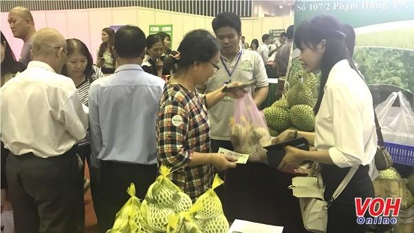 Khai mạc hội chợ quốc tế nông sản và thực phẩm Việt Nam 2017  - ảnh 1