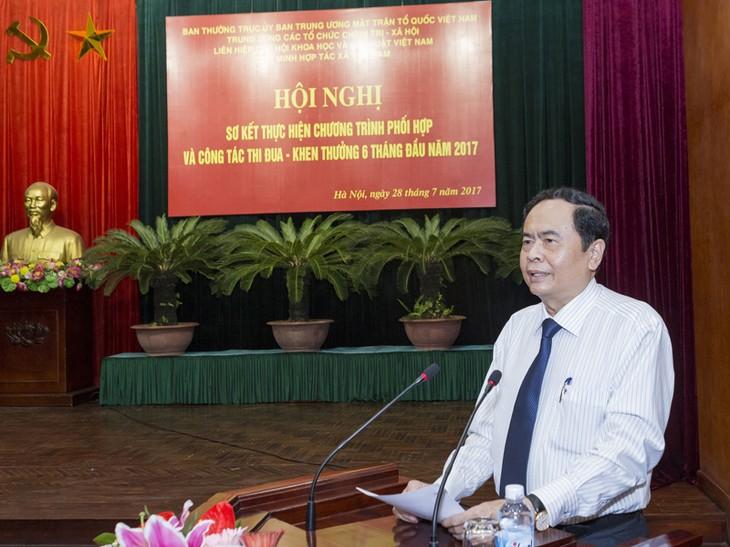 Mặt trận Tổ quốc Việt Nam và các tổ chức chính trị-xã hội với công tác đền ơn đáp nghĩa - ảnh 1