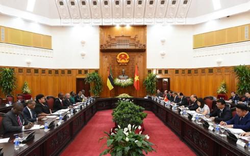 Tăng cường hơn nữa quan hệ Việt Nam – Mozambique - ảnh 1